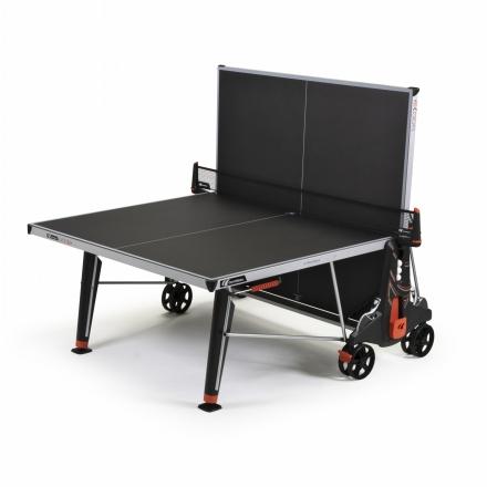 Pingpongový stôl Cornilleau 500 X Outdoor, ČIERNY