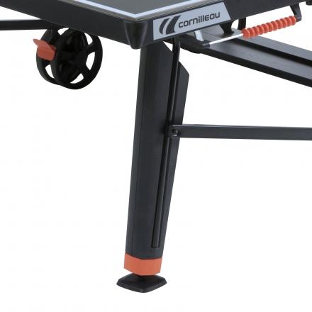 Pingpongový stôl Cornilleau 700 X Outdoor, ČIERNY